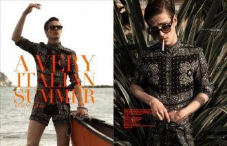 Mẫu thời trang đi biển từ các chàng trai Ý thoải mái