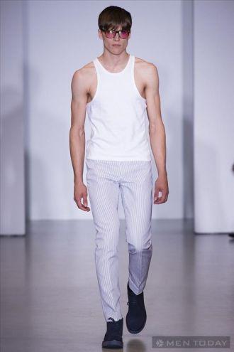 Mẫu thời trang nam xuân hè từ Calvin Klein mạnh mẽ