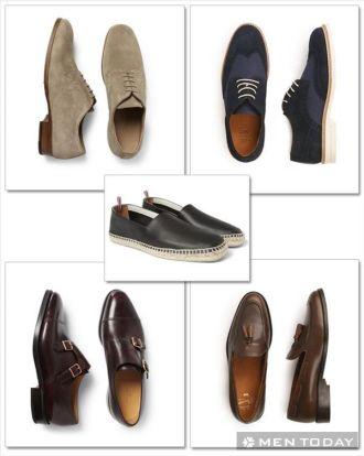 Phối đồ nam cùng 5 mẫu giày hot cá tính