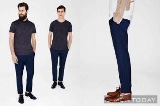 Phong cách thời trang nam mang đậm vẻ tối giản của Zara tự tin