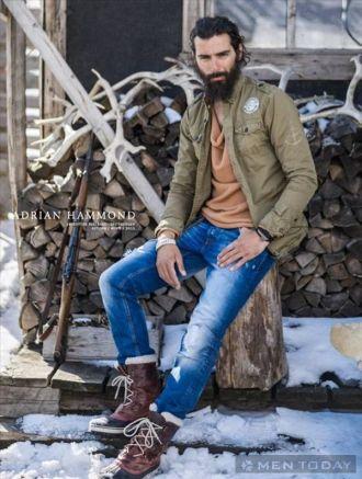 Style bụi bặm và quyến rũ với trang phục từ Adrian Hammond