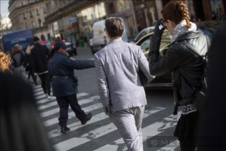 Thời trang các quý ông New York, Paris