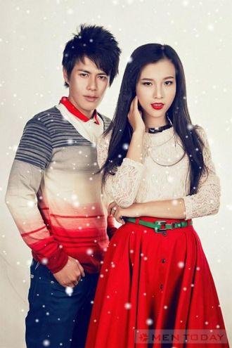 Thời trang Giáng sinh cho cặp đôi tự tin