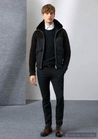 Thời trang nam thu đông của Zara đầy phong cách