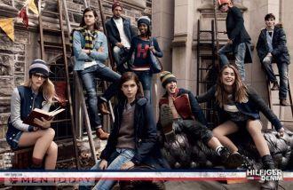 Thời trang nam thu đông từ Tommy Hilfiger độc đáo