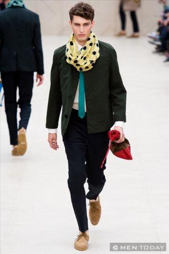 Thời trang nam từ Burberry – P1 độc đáo
