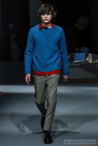 Thời trang thu đông lịch lãm từ Prada dành cho Boy