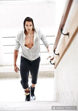 Bí quyết để nam tính sexy với phong cách thể thao