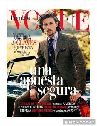 Cùng nam tính trên tạp chí Vogue Hombre cho mọi người ngưỡng mộ