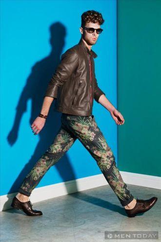 Màu và họa tiết từ lookbook xuân/hè của David Naman tự tin