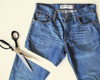 """Mẹo """"Hô biến"""" chiếc quần jeans cũ trở thành chiếc quần độc đáo"""