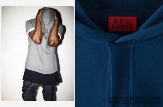 Phong cách thời trang nam A.P.C kết hợp cùng rapper Kanye West cá tính