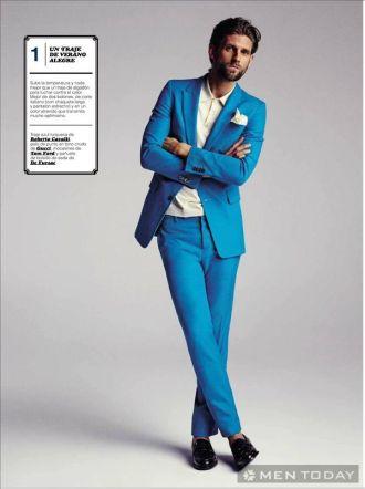 Phong cách thời trang nam xuân hè trên tạp chí GQ