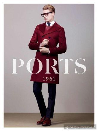 Thời trang nam thu đông từ Folk và Ports