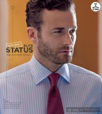 Thương hiệu Bloomingdale ra mắt catalog thời trang nam tháng 6