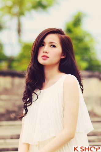 10 kiểu tóc đẹp xinh xắn của Hot Girl Việt sang trọng thanh lịch