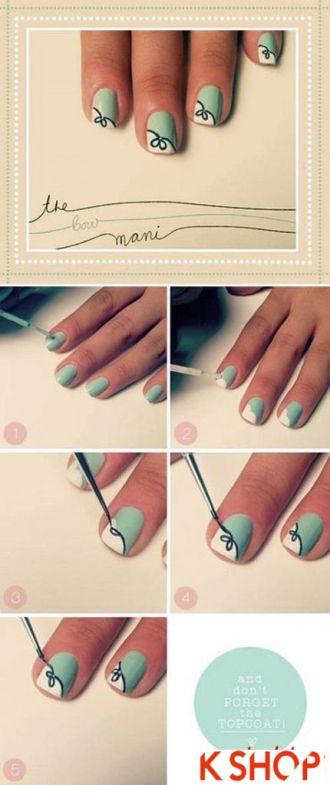 10 mẫu vẽ nail móng tay đơn giản đẹp dễ thương cho bạn gái cá tính tự tin