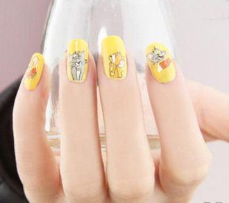 11 kiểu móng tay nail họa tiết đơn giản xinh xắn đầy cá tính mạnh mẽ