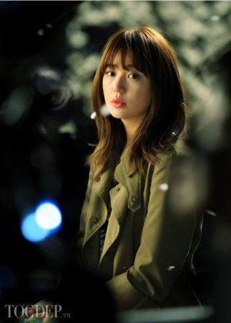 14 Tóc ngắn ngang vai đẹp Hàn Quốc đầy cá tính cho nàng công sở