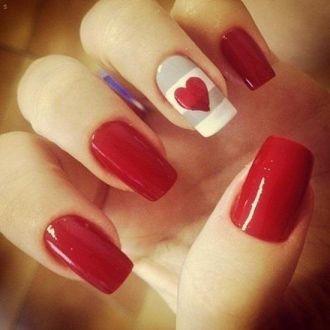 15 mẫu móng tay nail đỏ đẹp ngọt ngào quyến rũ cá tính