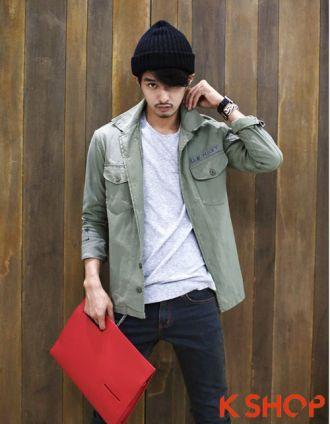 3 kiểu áo khoác nam đẹp Hàn Quốc cho chàng cá tính