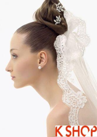 4 Kiểu tóc cô dâu đẹp cho bạn gái duyên dáng quyến rũ ngày cưới