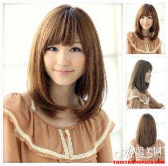 4 kiểu tóc ngắn ngang vai phù hợp cô nàng khuôn mặt nhỏ tròn