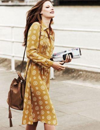 4 Váy đầm sơ mi tôn vinh nét thanh lịch cho bạn gái
