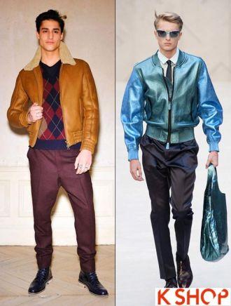 5 kiểu áo khoác nam đẹp thu đông ấm áp cho chàng