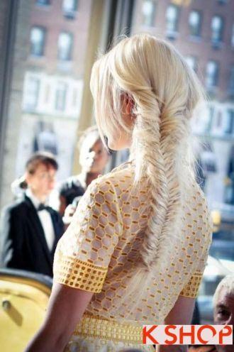 7 kiểu tóc Hàn Quốc cho cô nàng khuôn mặt chữ điền
