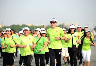 7 triệu người chạy bộ vì sức khỏe