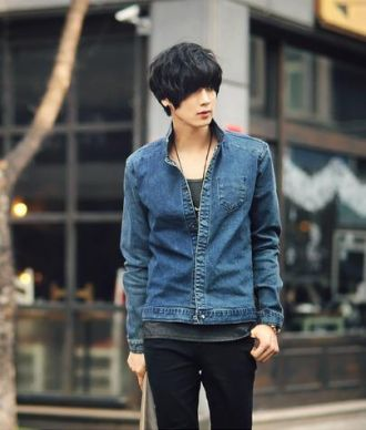 Áo khoác jean nam đẹp cho chàng cá tính thời trang