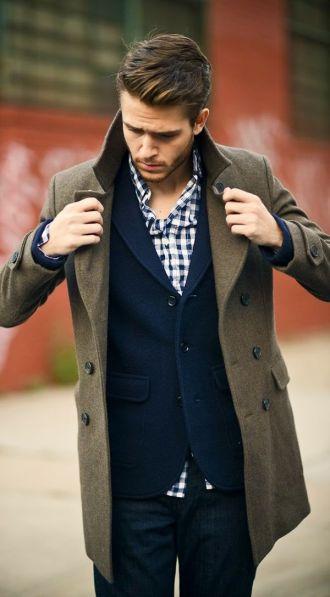 Áo khoác măng tô nam công sở đẹp sang trọng cá tính