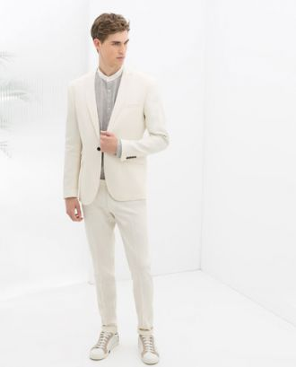 Áo khoác nam Blazer Zara phụ hợp với mọi đối tượng