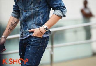 Áo khoác nam denim đẹp thể hiện phong cách phái mạnh