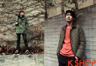 Áo khoác nam kiểu Hàn Quốc đẹp gam màu thanh lịch cho chàng tự tin