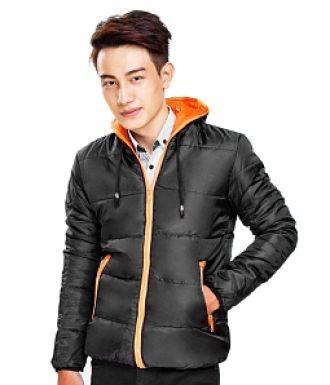 Áo khoác phao nam màu đen đẹp thu đông bảnh bao cá tính