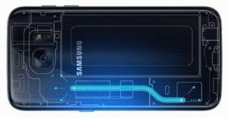 Bên trong bộ phận làm mát của Galaxy S7/S7 edge có gì? bạn muốn biết?