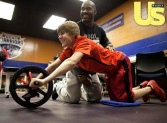 Bí mật cơ bắp của Justin Bieber tự tin
