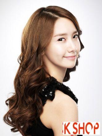 BST Tóc xoăn sóng nước đẹp Hàn Quốc cho nàng điệu đà