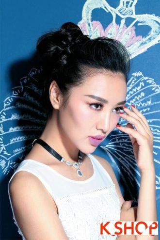 Cách búi tóc cao đẹp 2016 giống sao Kpop Hàn Quốc xinh xắn