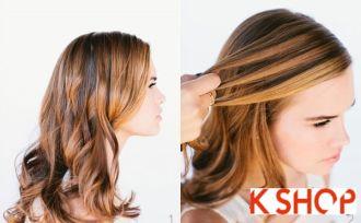Cách tết tóc thác nước đẹp sang trọng đơn giản dễ thực hiện