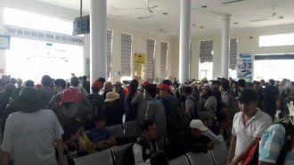'Cháy' vé tàu cao tốc ra đảo Lý Sơn du lịch