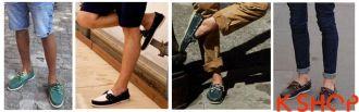 Giày lười nam đẹp cho chàng sành điệu cá tính thời trang cá tính