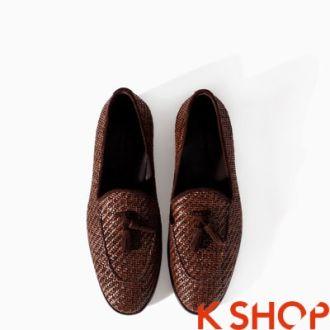 Giày lười zara nam đẹp kiểu đa dạng trẻ trung thời trang cá tính