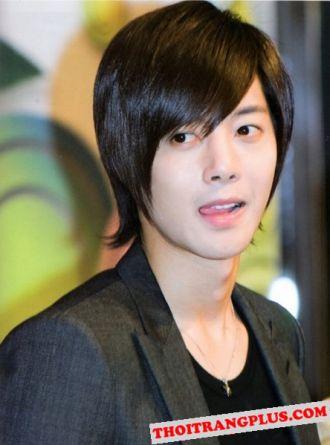 Kiểu tóc nam Hàn Quốc lịch lãm quý phái cho chàng trai