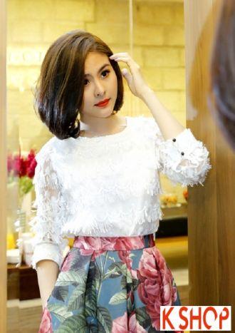 Kiểu tóc ngắn ngang vai đẹp của sao Việt cá tính