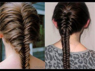 Kiểu tóc tết nữ đuôi sam cổ điển kiểu Pháp thanh lịch