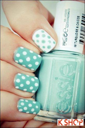 Mẫu móng tay nail màu pastel cho bạn gái cực dễ thương mạnh mẽ
