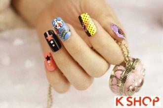 Mẫu nail móng tay cổ điển đơn giản cho cô nàng dễ thương tự tin
